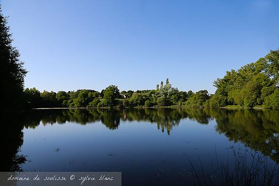 Miroir d'eau sur l'étang