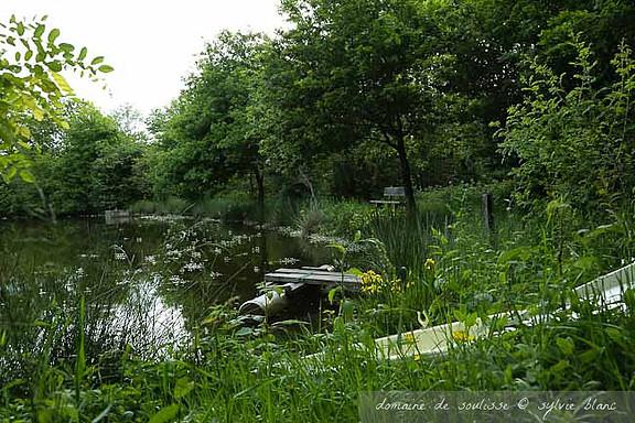 L'étang de Soulisse à La p'Thite Marmande