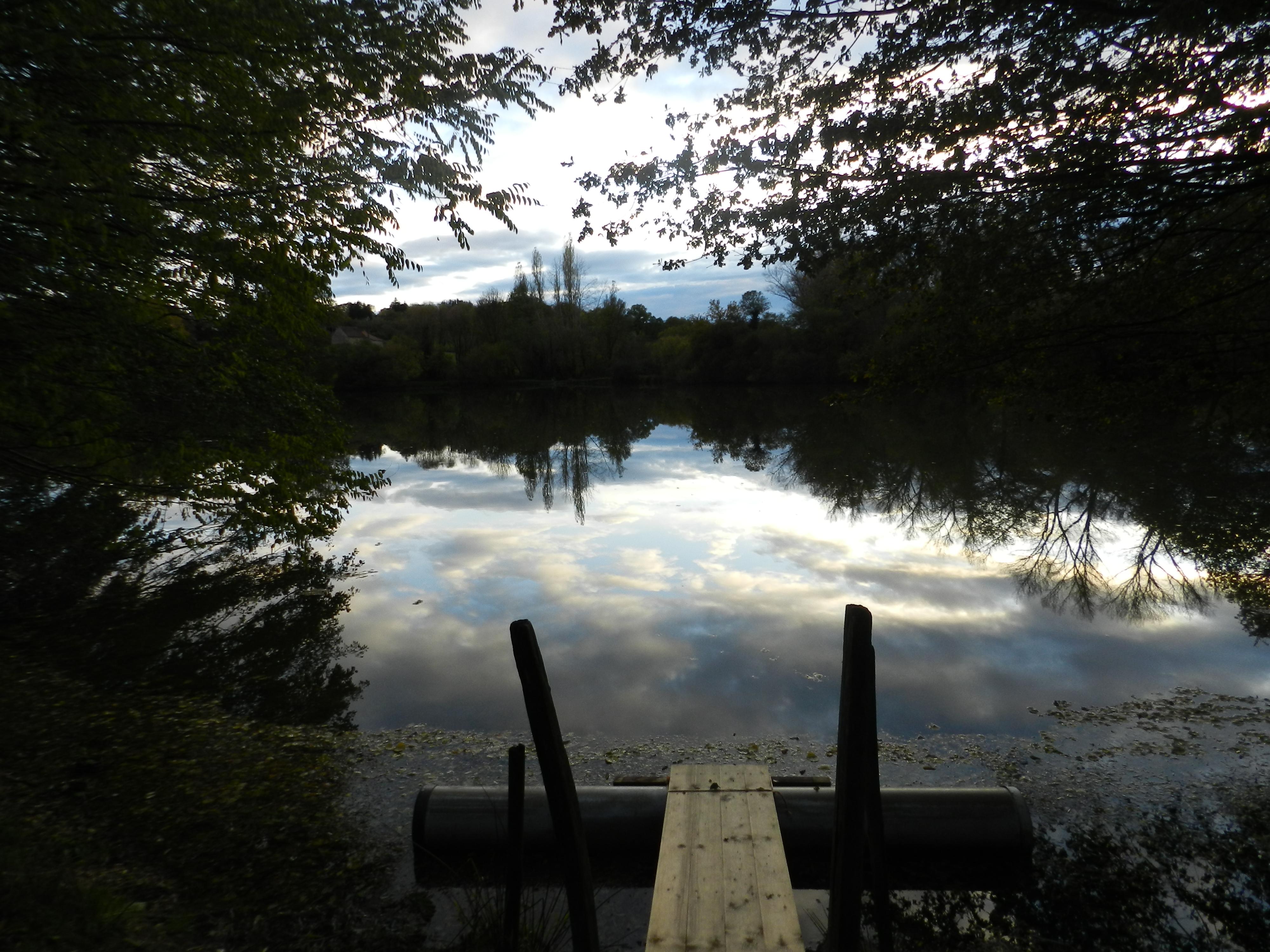étang de Soulisse à La p'Thite Marmande